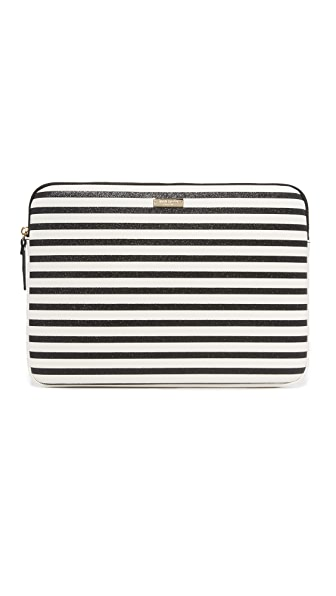 "Kate Spade New York 13"" Stripe Laptop Sleeve"