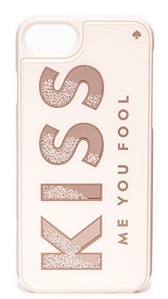 Kate Spade New York Kiss Me You Fool iPhone 7 Case