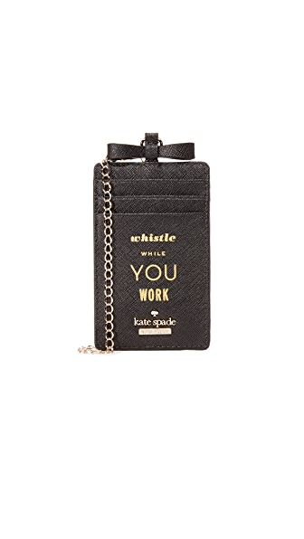 Kate Spade New York Whistle While You Work Lanyard