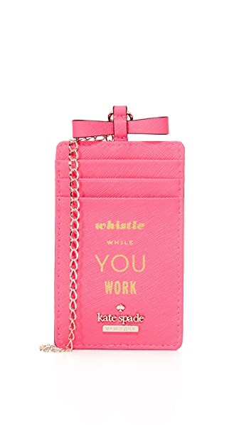 Kate Spade New York Whistle While You Work Lanyard
