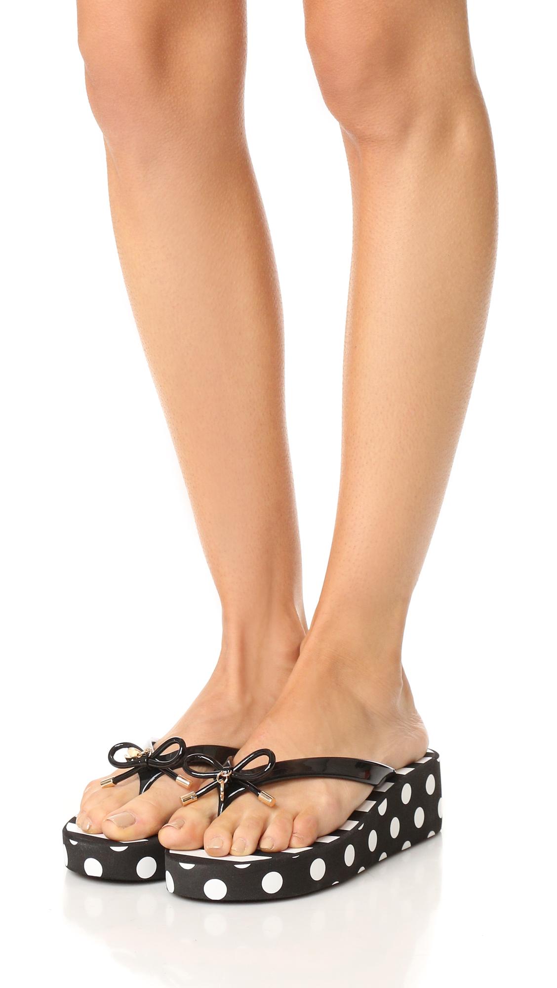 cb9e85c522d3 Kate Spade New York Rhett Wedge Flip Flops
