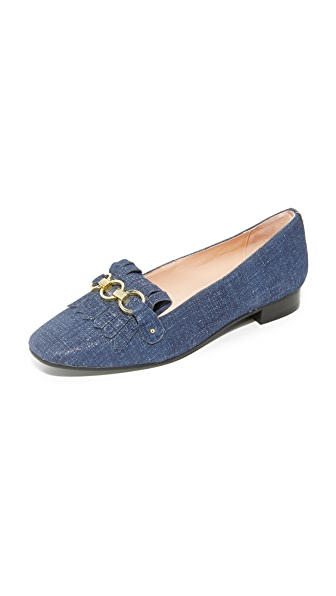 Kate Spade New York Karen Loafers - Blue Denim