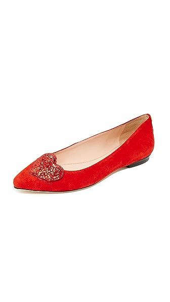 Kate Spade New York Eden Flats - Maraschino Red
