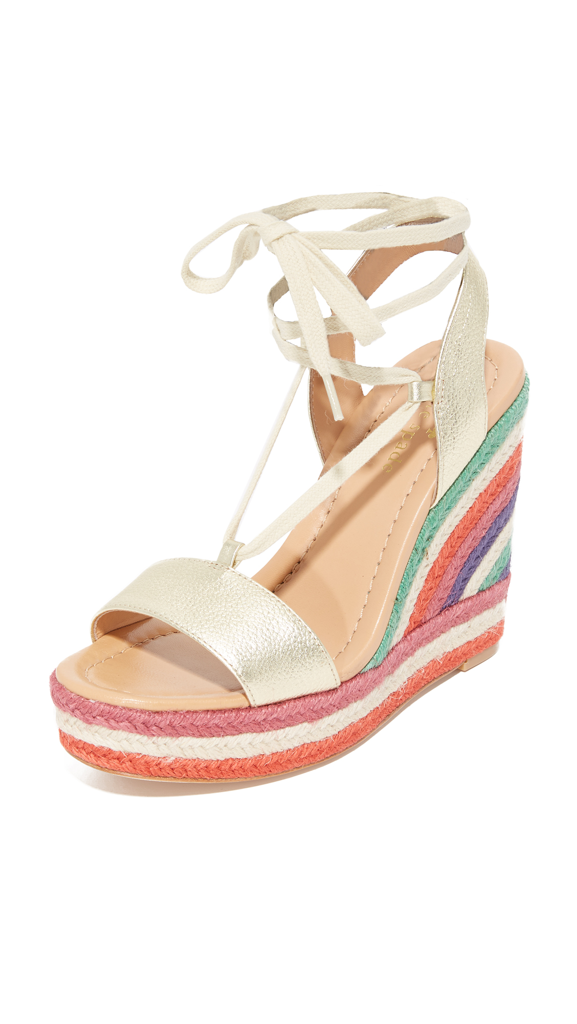 Photo of Kate Spade New York Daisy Too Wedges Gold-Multi - Kate Spade New York online