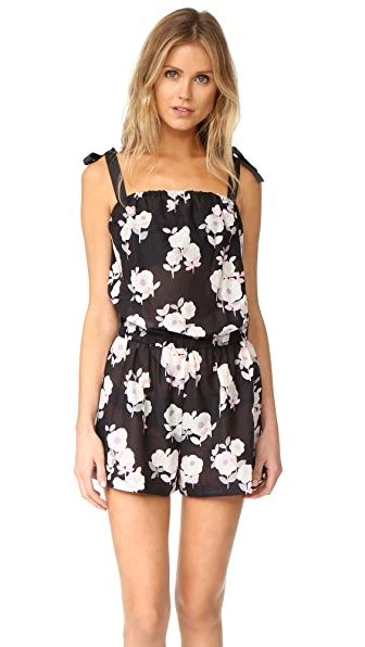 Kate Spade New York Posey Grove Tie Shoulder Romper