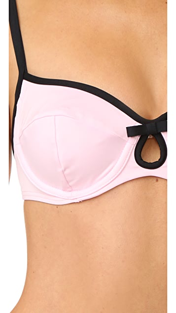 Kate Spade New York Plage Du Midi Underwire Bikini Top