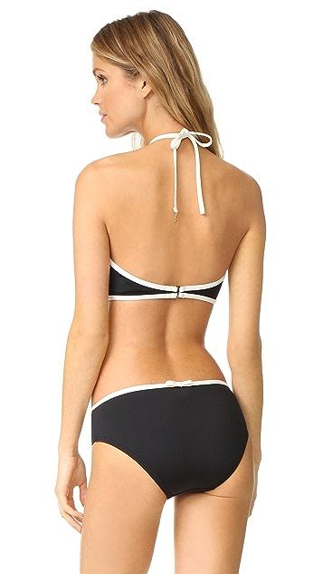 Kate Spade New York Plage Du Midi High Neck Bikini Top