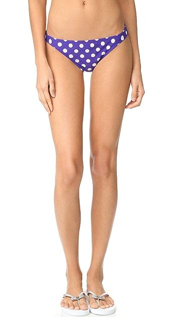 Kate Spade New York Polka Dot Classic Bikini Bottoms