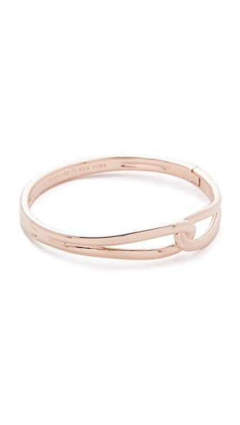 Kate Spade New York Get Connected Loop Bangle - Rose Gold