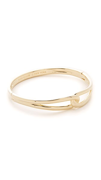 Kate Spade New York Get Connected Loop Bangle - Gold