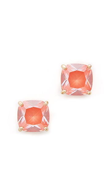 Kate Spade New York Enamel Small Square Stud Earrings