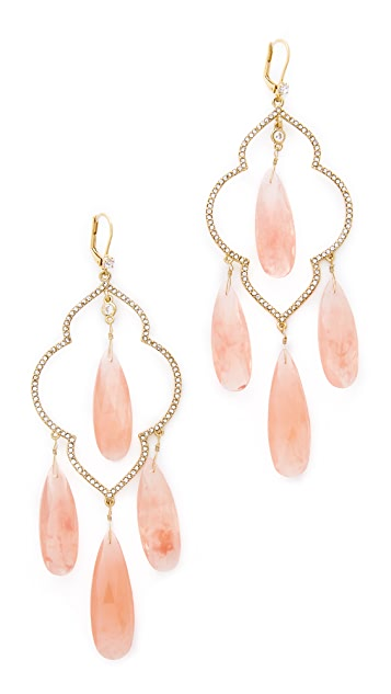 Kate Spade New York Lantern Gems Large Chandelier Earrings