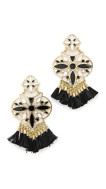 Kate Spade New York Moroccan Tile Chandelier Earrings