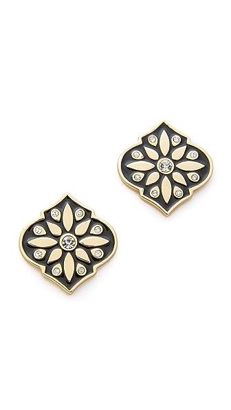 Kate Spade New York Moroccan Tile Statement Stud Earrings
