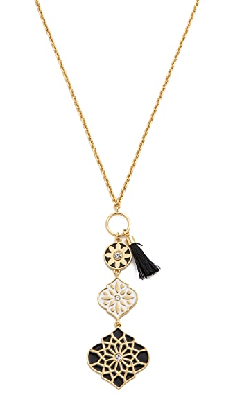 Kate Spade New York Moroccan Tile Toggle Pendant Necklace