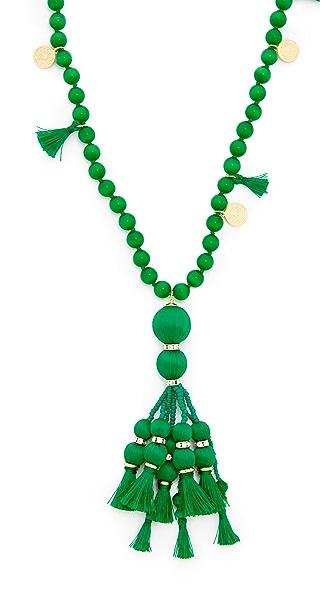 Kate Spade New York Pretty Poms Tassel Pendant Necklace