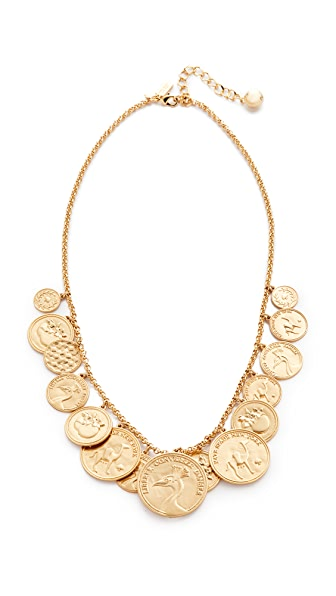 Kate Spade New York Flip a Coin Necklace