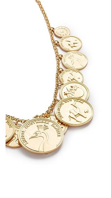 Kate Spade New York Flip a Coin Necklace