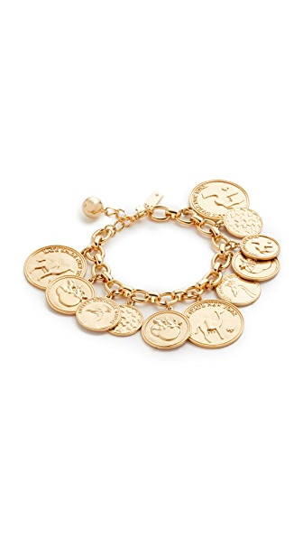 Kate Spade New York Flip a Coin Bracelet - Gold