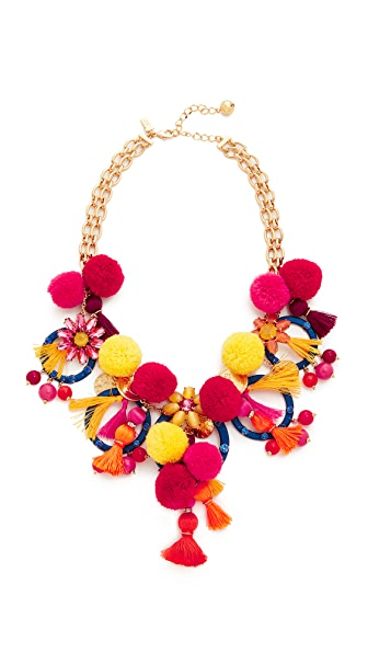 Kate Spade New York Pretty Poms Statement Necklace