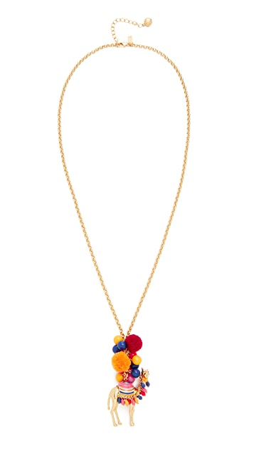 Kate Spade New York Spice Things Up Camel Pendant Necklace