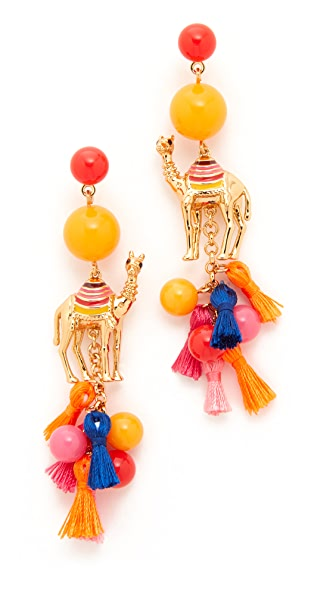 Kate Spade New York Spice Things Up Camel Statement Earrings