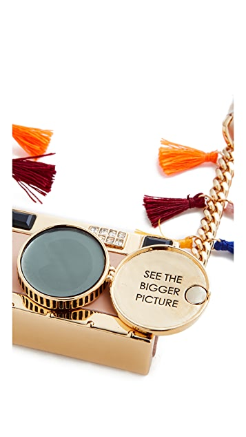 Kate Spade New York Spice Things Up Camera Necklace