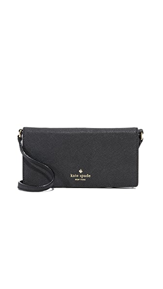 Kate Spade New York Crossbody iPhone 7 Plus Case - Black