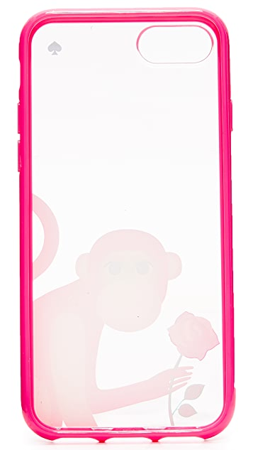 Kate Spade New York Monkey With Rose iPhone 7 Case