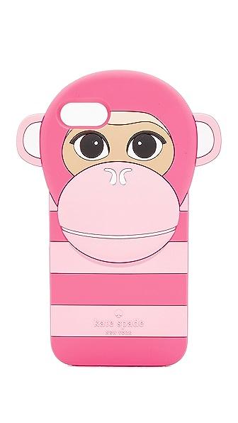 Kate Spade New York Silicone Monkey iPhone 7 Case