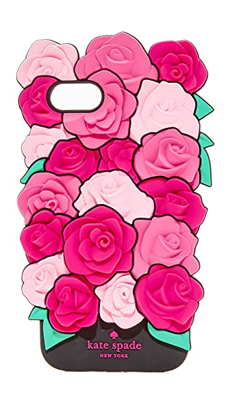 Kate Spade New York Silicone Roses iPhone 7 Case