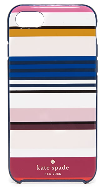 Kate Spade New York Berber Stripe iPhone 7 Case