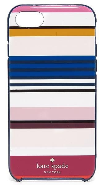 Kate Spade New York Berber Stripe iPhone 7 Case - Multi