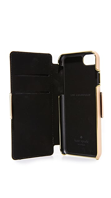 Kate Spade New York Camera Leather Applique iPhone 7 / 8 Case