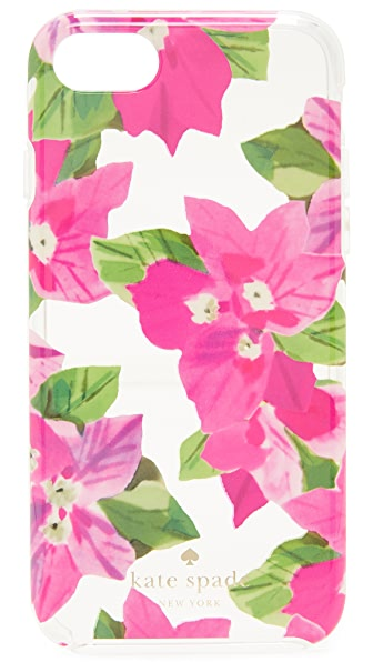 Kate Spade New York Bougainvillea iPhone 7 Case In Clear Multi