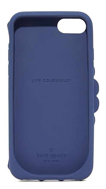 Kate Spade New York Silicone Peacock iPhone 7 Case