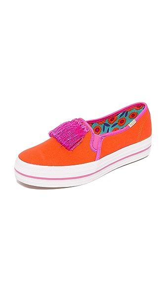 Kate Spade New York Decker Too Slip On Sneakers - Tangelo