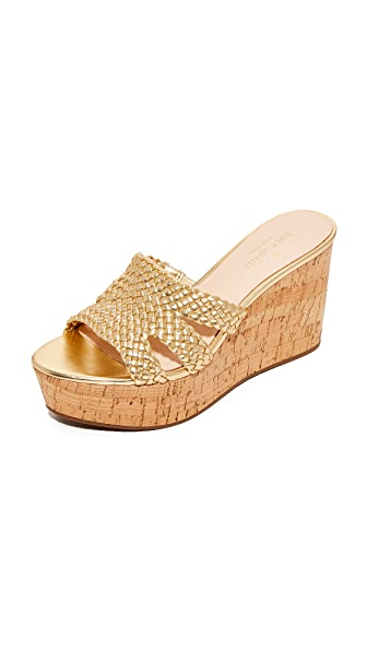 Kate Spade New York Taravela Wedges - Old Gold
