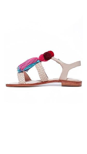 KATE SPADE Sunset Tassel Strappy Sandal