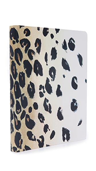 Kate Spade New York Leopard Spiral Notebook