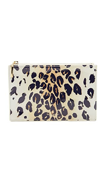 Kate Spade New York Leopard Pencil Pouch - Leopard