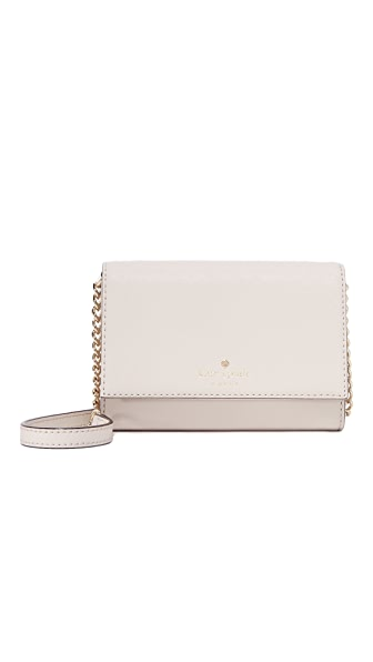 Kate Spade New York Cami Cross Body Bag - Crisp Linen