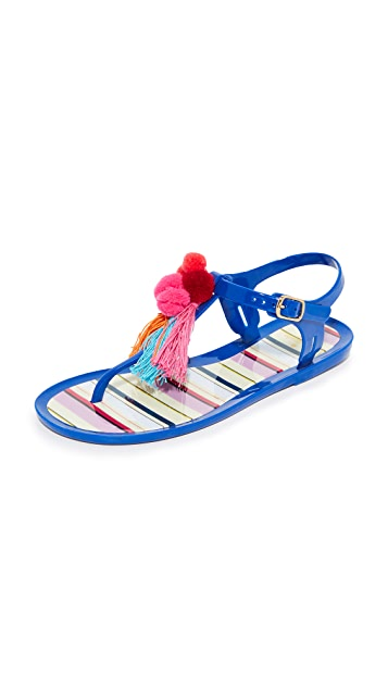 Kate Spade New York Yellowstone Jelly Sandals