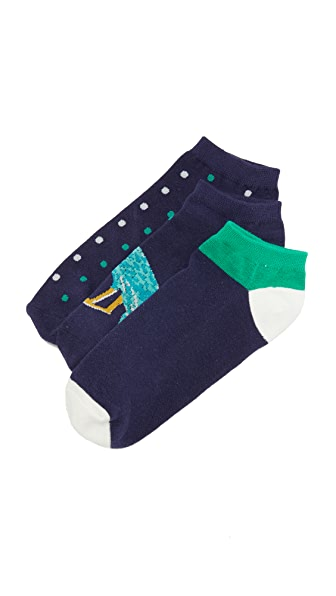 Kate Spade New York Regal Peacock Sock Set
