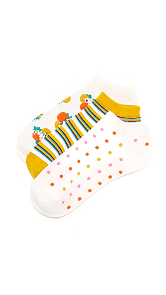 Kate Spade New York Orangerie Sock Set
