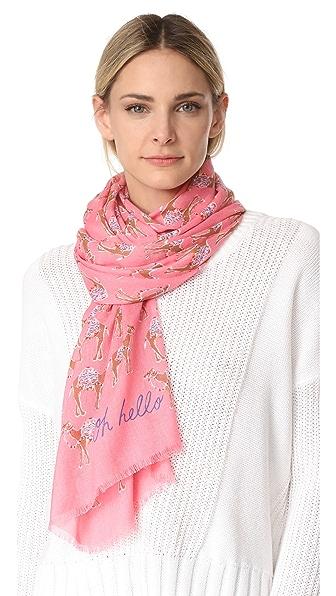 Kate Spade New York Продолговатый шарф Camel March