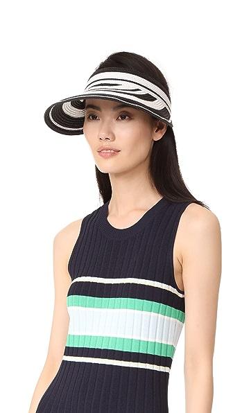 Kate Spade New York Berber Stripe Visor