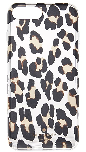 Kate Spade New York Leopard Clear iPhone 7 Plus Case