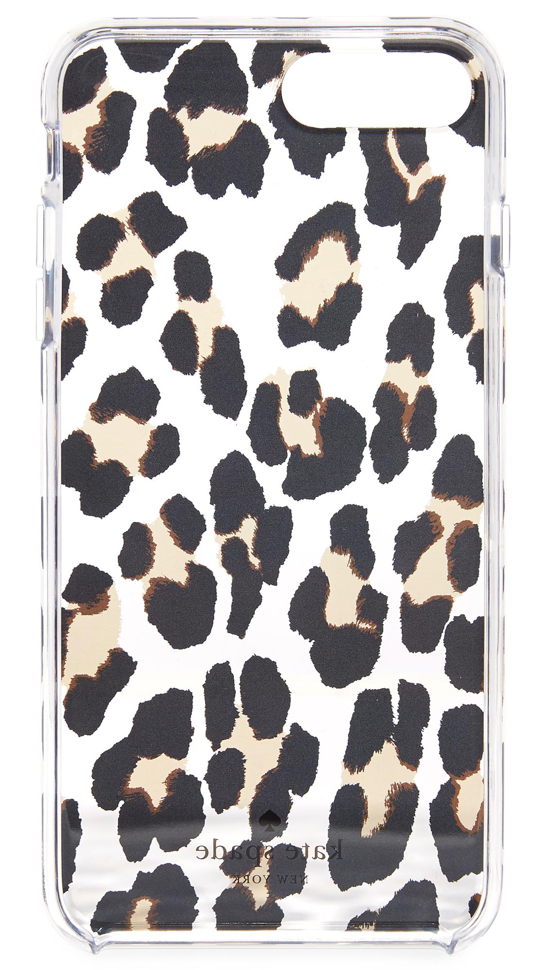 online store 35875 5c16e Leopard Clear iPhone 7 Plus Case