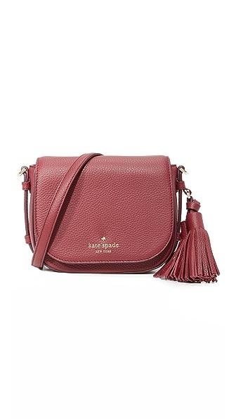 Kate Spade New York Small Penelope Saddle Bag - Merlot